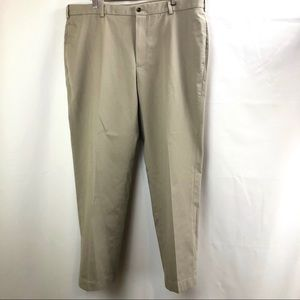 NWT BROOKS BROTHERS Mens Beige Chinos Dress Slacks